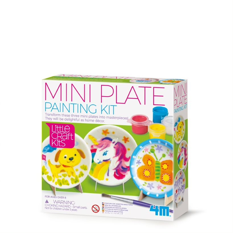 4M - Little Craft - Mini Plates Painting Kit