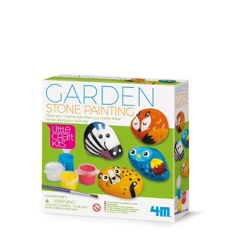 4M - Little Craft - Garden Stone Painting