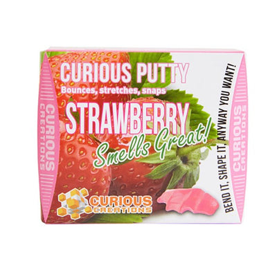 Curious Creations - Strawberry Scented Putty