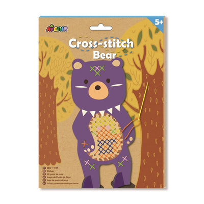 Avenir - Cross Stitch - Bear