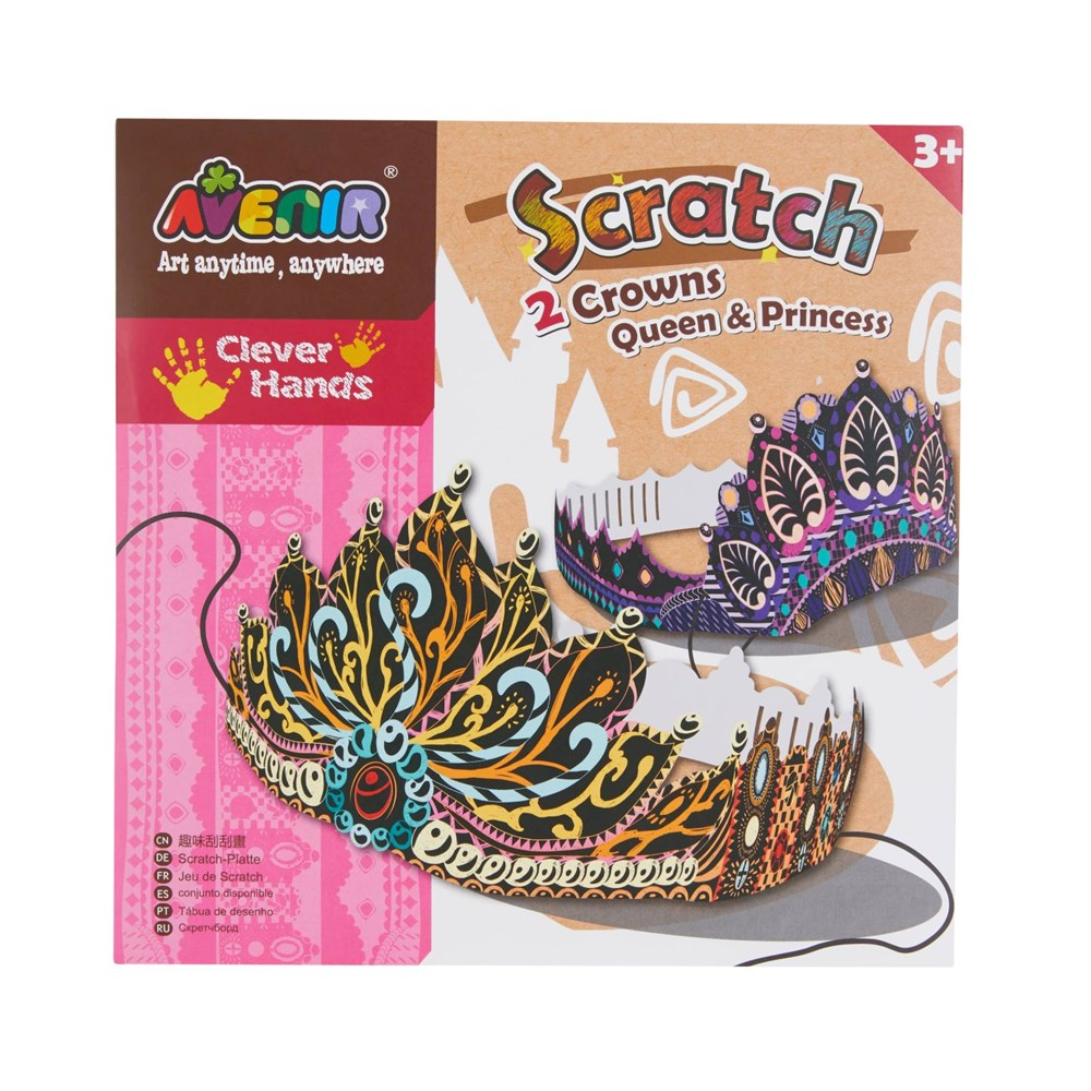 Avenir - Scratch - Crowns- Queen & Princess