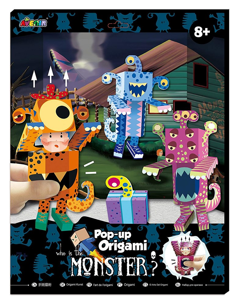 Avenir - Pop-Up Origami - Monster