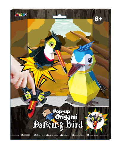 Avenir - Pop-Up Origami - Dancing Bird