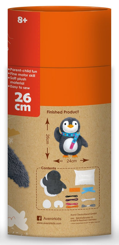 Avenir -  Sewing - Doll - Penguin