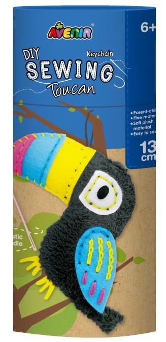 Avenir -  Sewing - Key Chain - Toucan