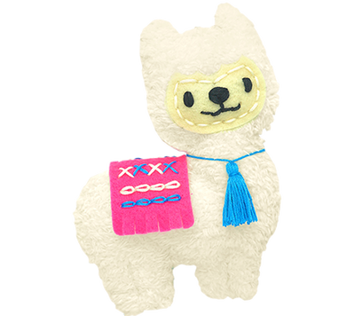 Avenir -  Sewing - Key Chain - Llama