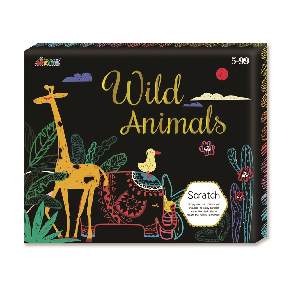 Avenir - Scratch - Wild Animals Box Set