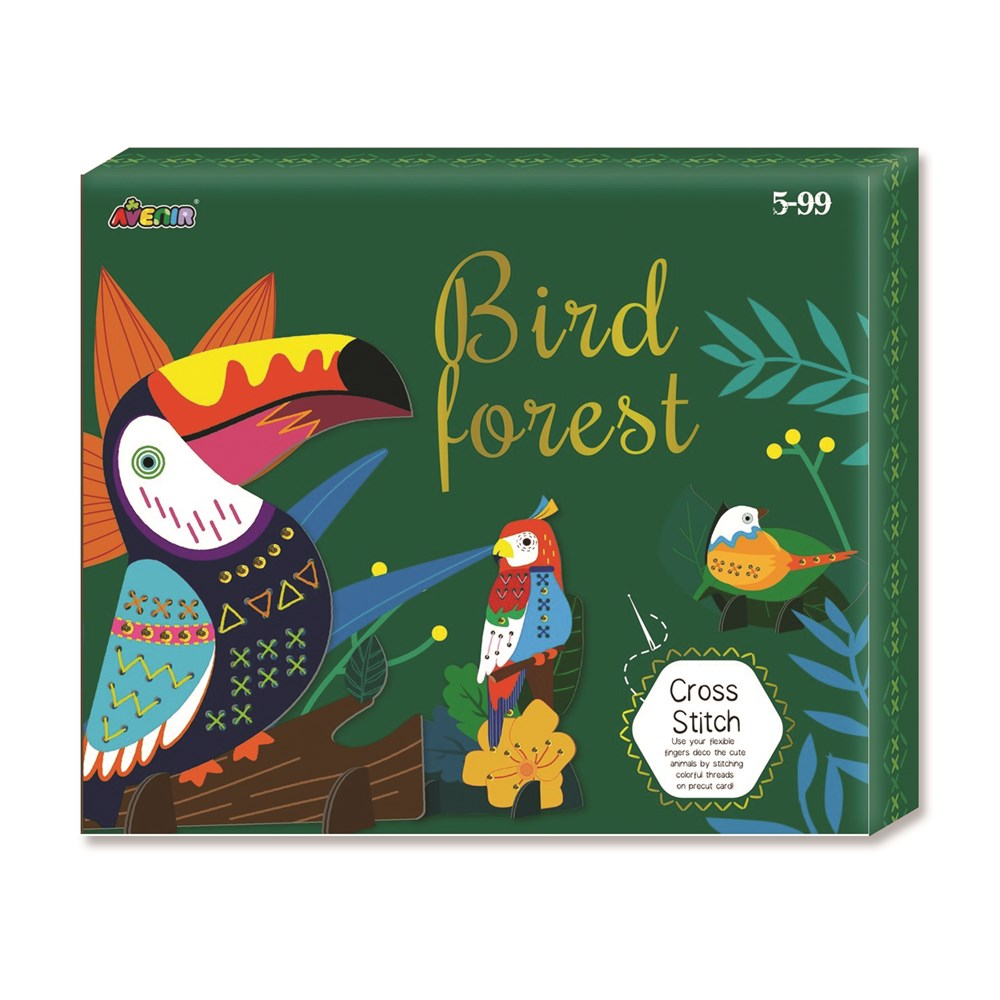 Avenir - Cross Stitch - Bird Forest Box Set