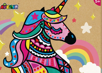 Avenir - Canvas Pop Art - Unicorn
