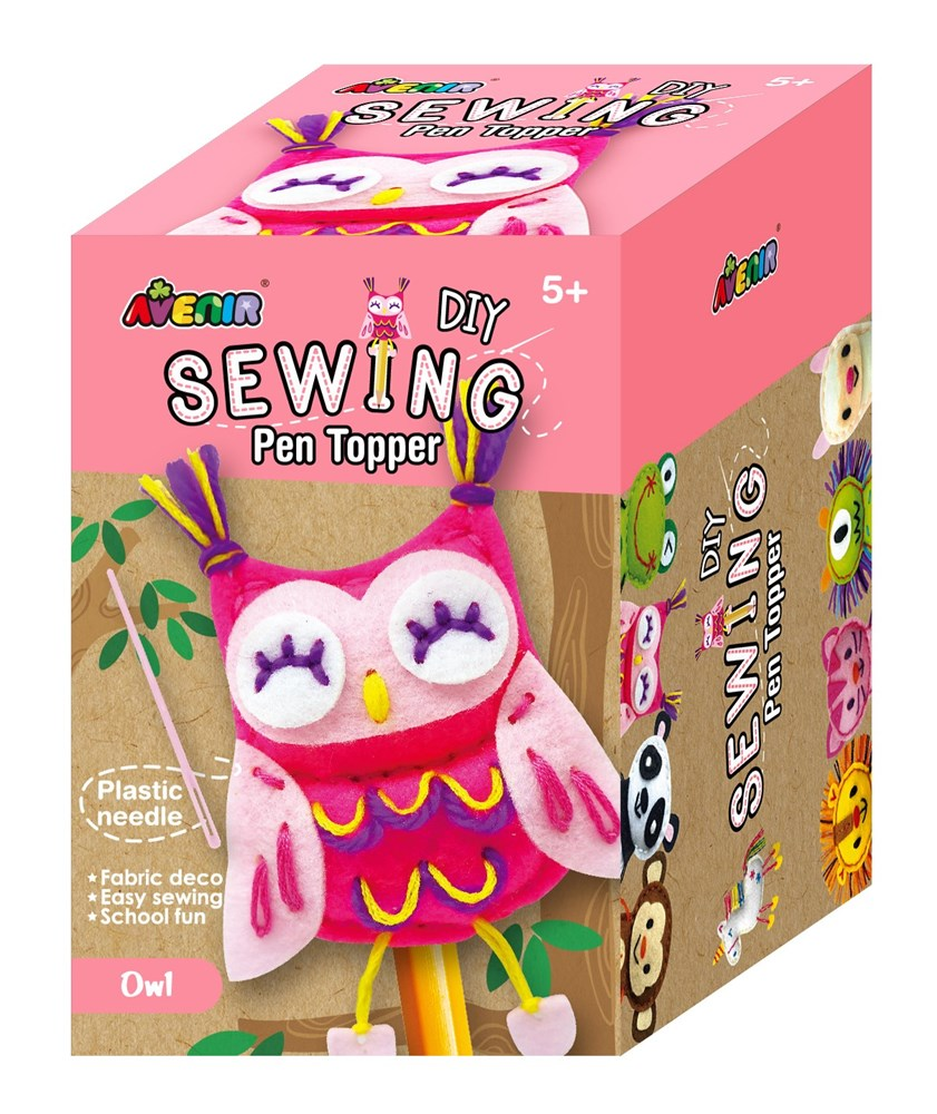 Avenir -  Sewing - Pen Topper - Owl