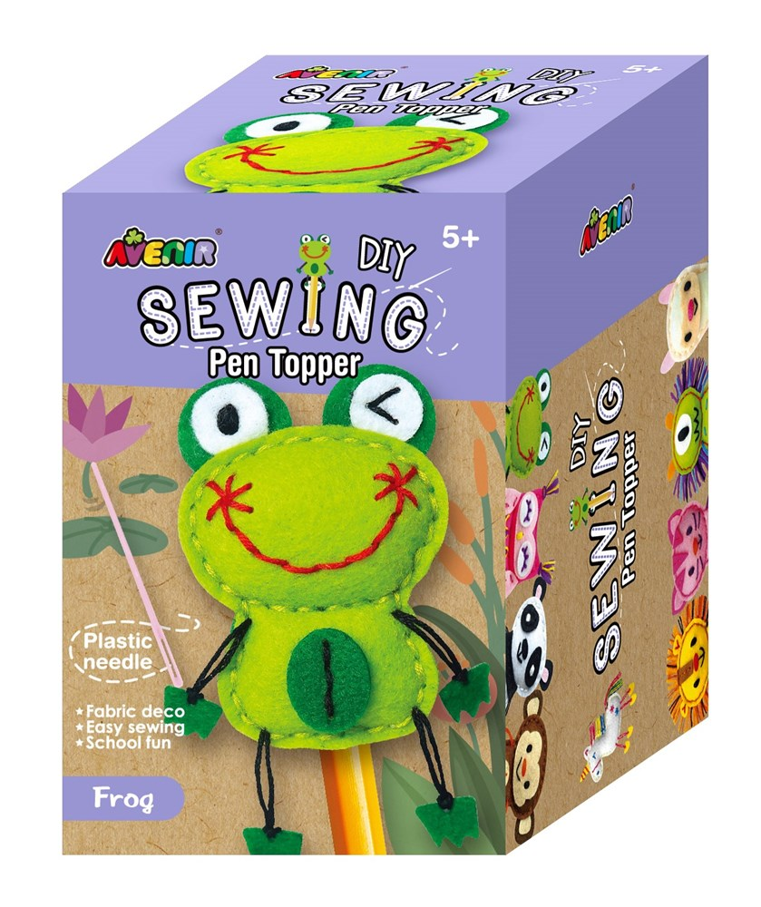 Avenir -  Sewing - Pen Topper - Frog