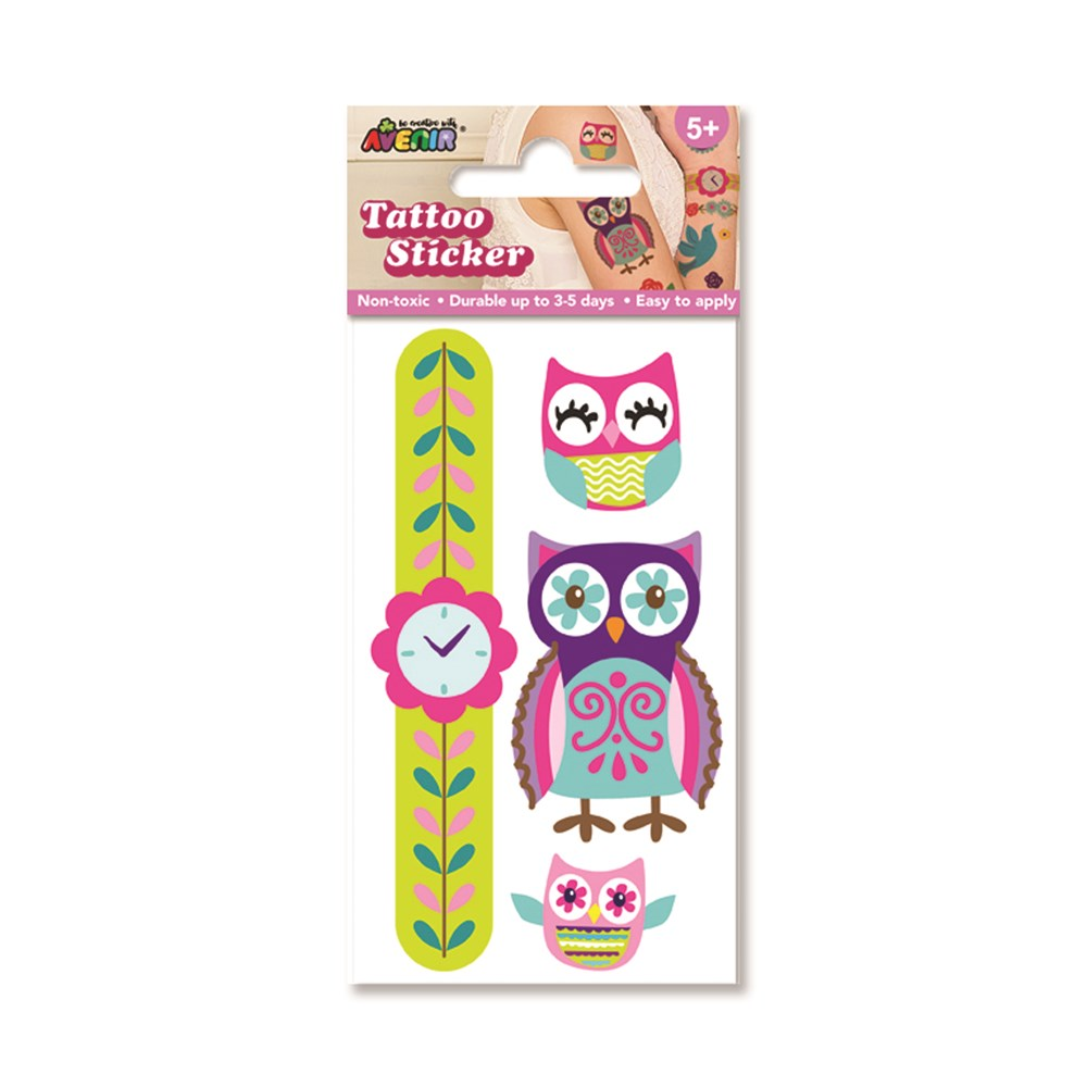 Avenir - Mini Tattoo - Owl