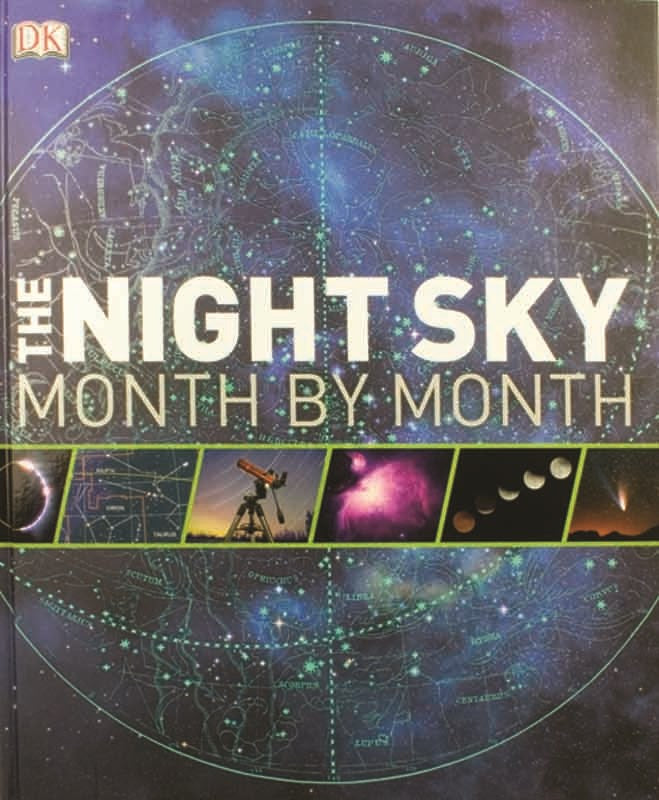 Books - Night Sky Month By Month