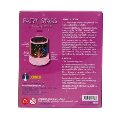 Johnco - Fairy Stars Projector