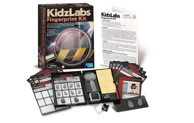 4M - KidzLabs - Detective Fingerprint Kit