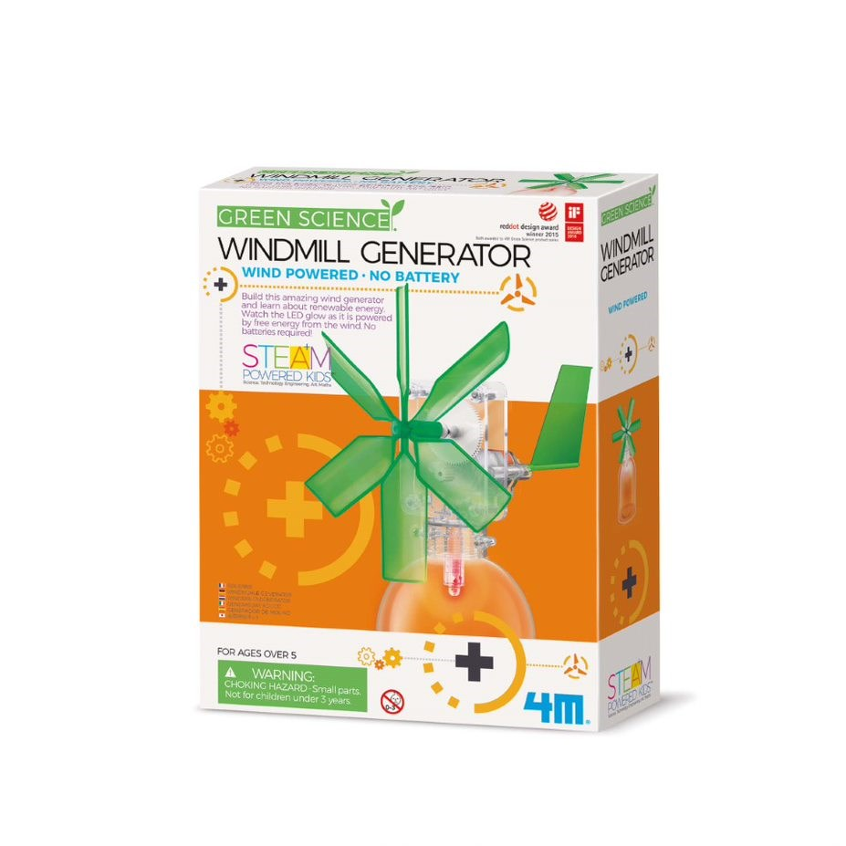 4M - Green Science - Windmill Generator