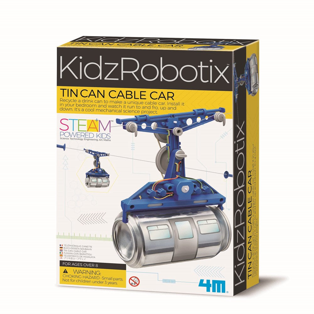 4M - KidzRobotix - Tin Can Cable Car