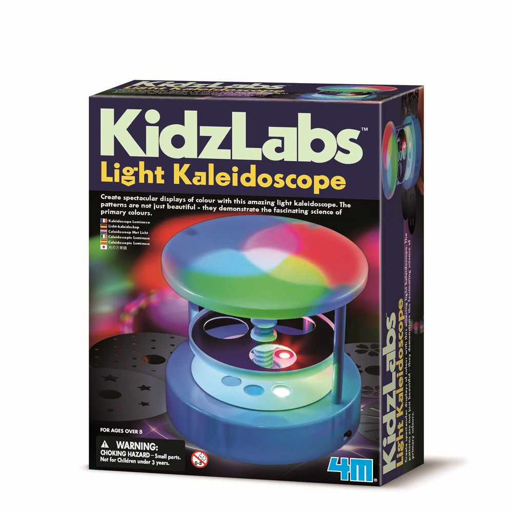 4M - KidzLabs - Light Kaleidoscope