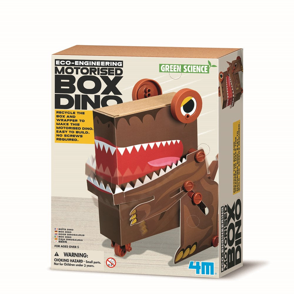 4M - Box Dino - Green Science