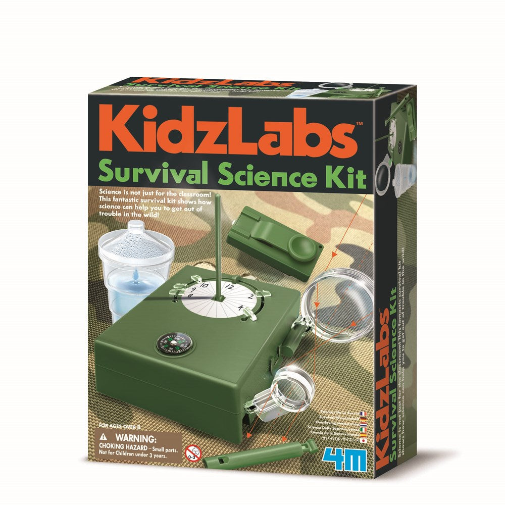 4M - KidzLabs -Survival Science Kit