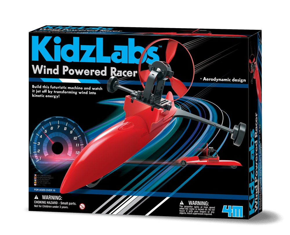 4M - Kidzlabs - Wind Powered Racer