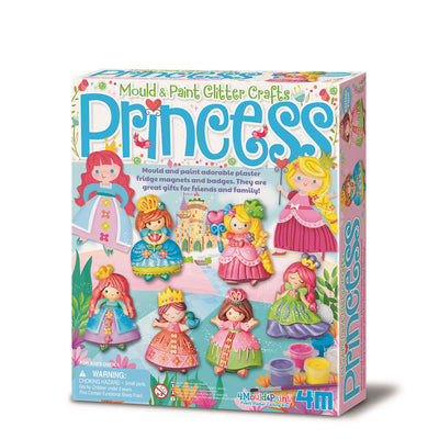 4M - Mould & Paint - Glitter Princess