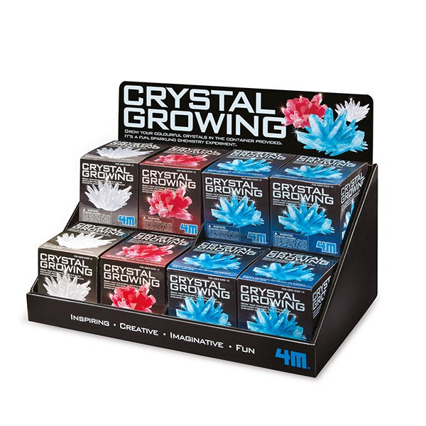4M - Crystal Growing Kits (12 Pack)