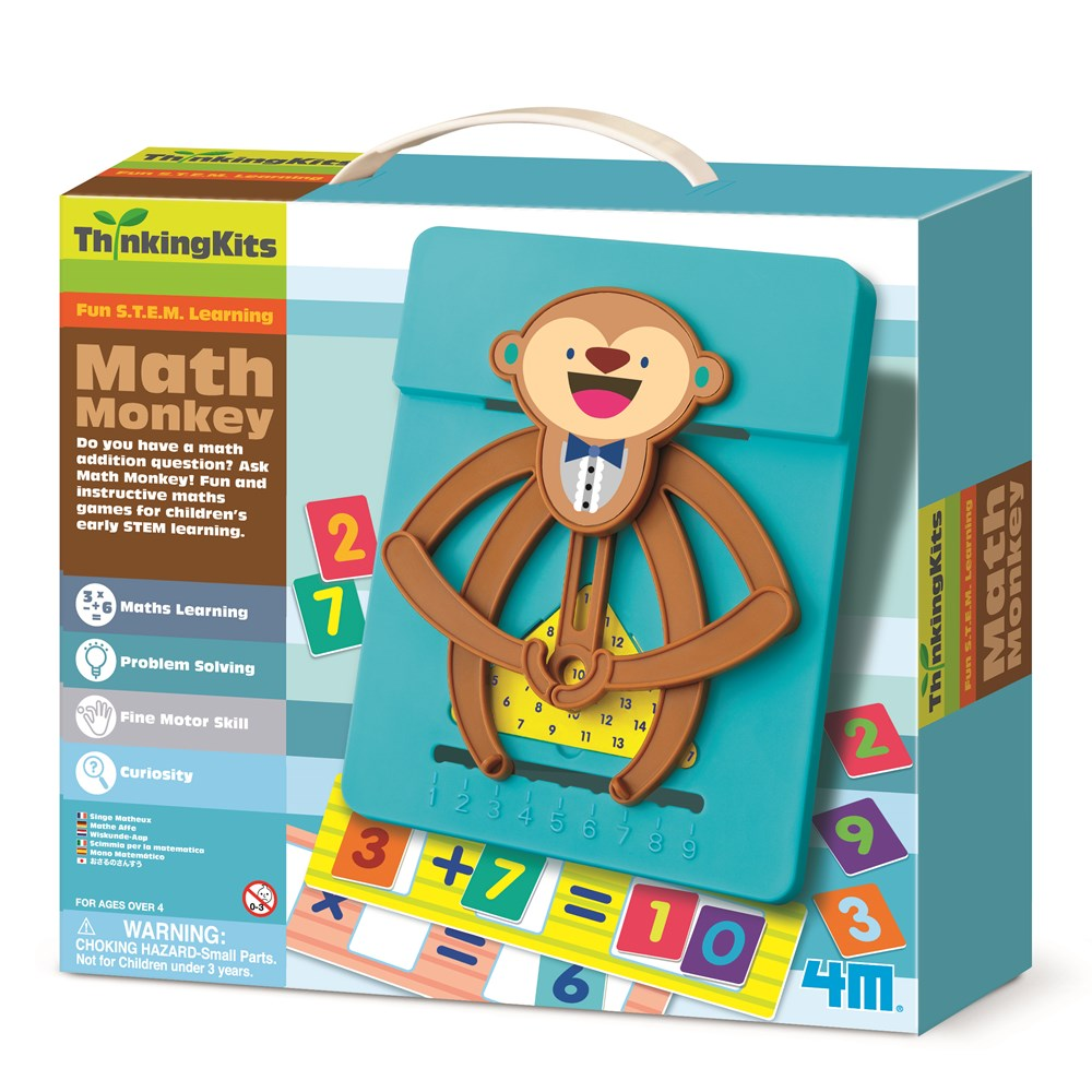 4M - ThinkingKits - Math Monkey