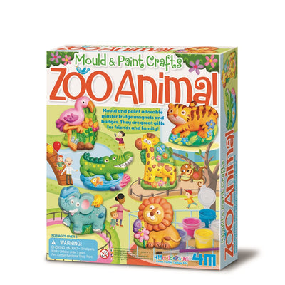 4M - Mould & Paint - Zoo Animal