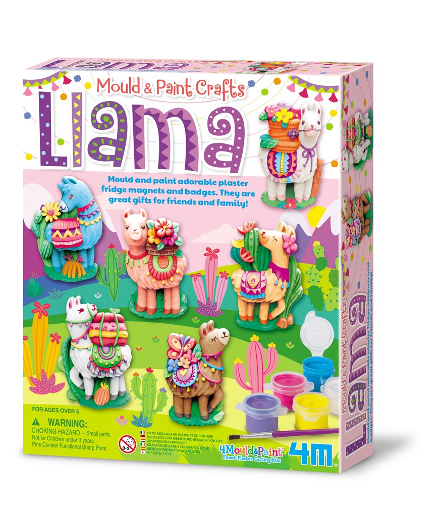 4M - Mould & Paint - Llamas