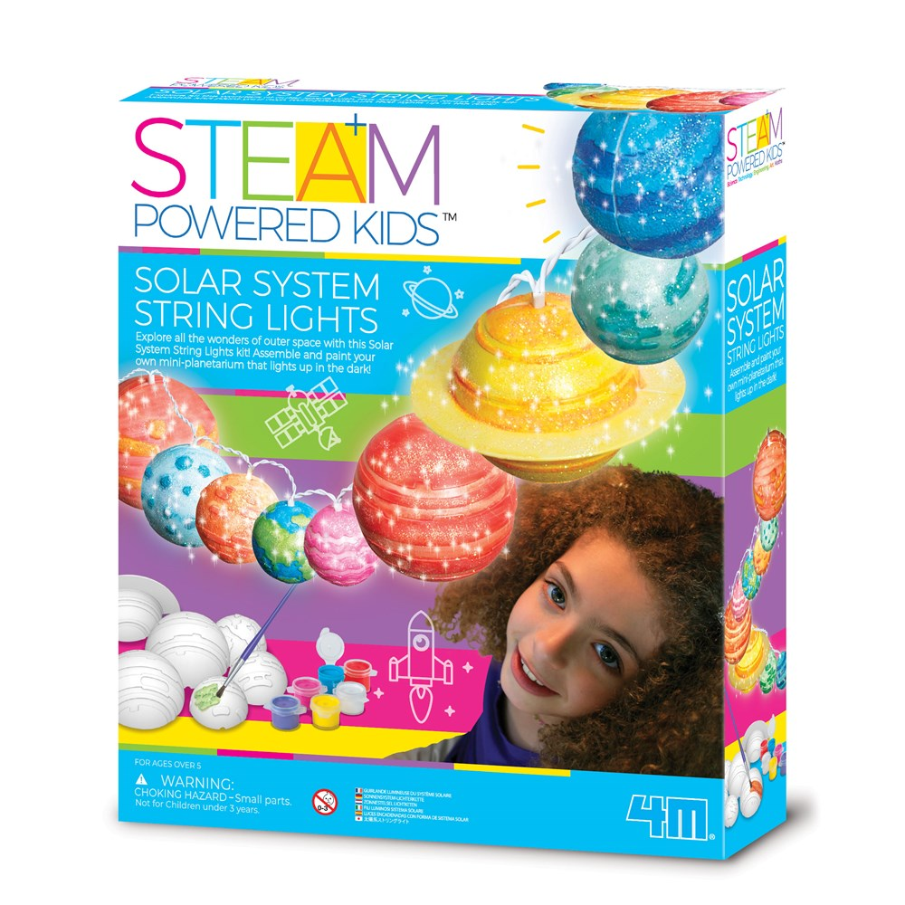 4M - STEAM Powered Kids - Solar System Toys String Lights