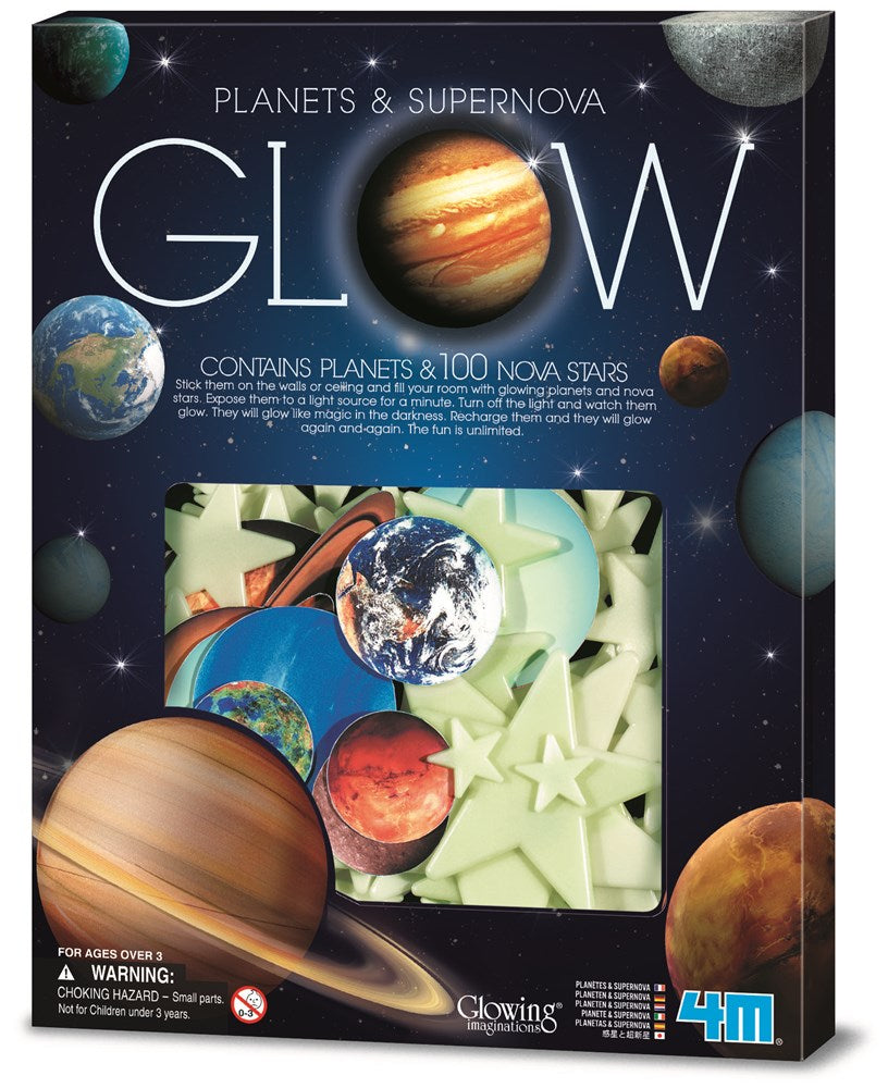 4M - Glow Planets and Supernova