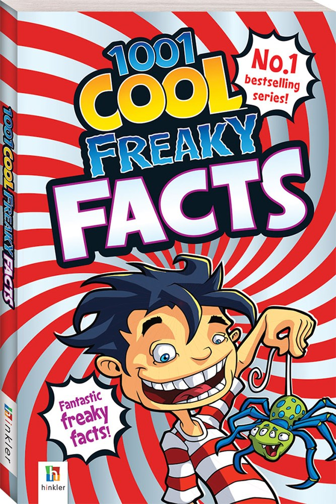 Books - 1001 Cool Freaky Facts 520710