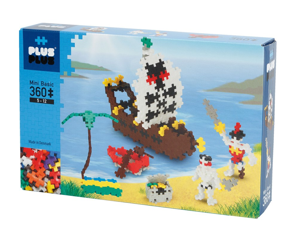 Plus-Plus - Basic Pirates - 360 pcs