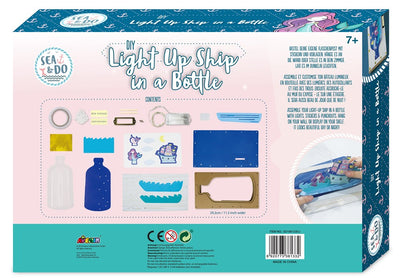 Sea & Do - DIY Light Up Ship in a Bottle