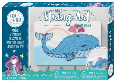 Sea & Do - String Art - Whale