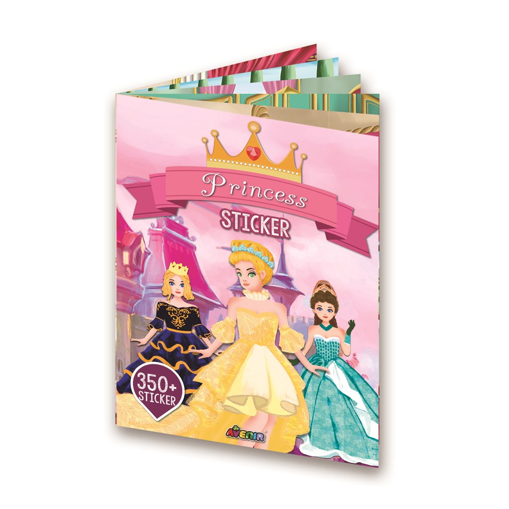 Avenir - Sticker Book - Princess