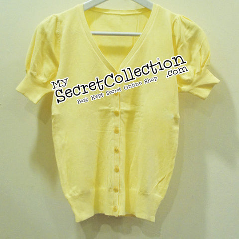 Candies Puff Sleeve - Yellows - Baby Yellow