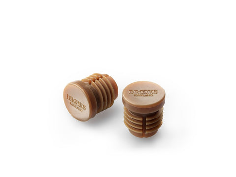 Brooks Rubber Bar End Plugs Natural