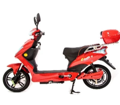 Emoto 48v Electric Moped Red