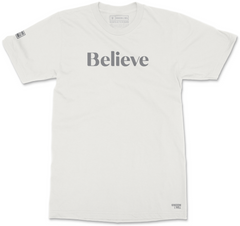 BELIEVE T-SHIRT (BONE)