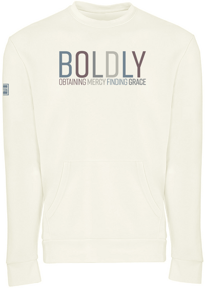 BOLDLY POCKET SWEATSHIRT (BONE)
