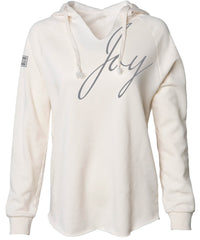 JOY HOODED PULLOVER (BONE)