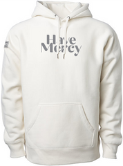 HAVE MERCY ELEVATED HOODIE (BONE & CHARCOAL)