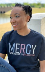 MERCY T-SHIRT (MIDNIGHT NAVY)