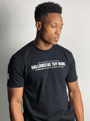 HALLOWED BE THY NAME T-SHIRT (BLACK & WHITE)