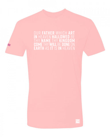 BREAST CANCER AWARENESS - LORD'S PRAYER T-SHIRT