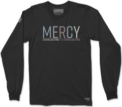 MERCY LONG SLEEVE T-SHIRT (BLACK SUEDE)