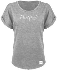 PURIFIED BY CHRIST DOLMAN (HEATHER GRAY)