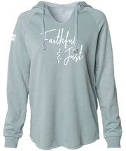 FAITHFUL & JUST HOODED PULLOVER (SAGE)